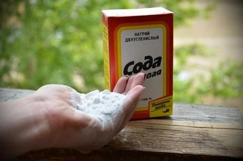 Сода для кожи