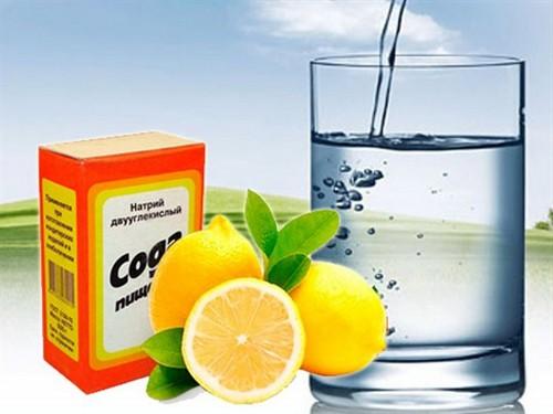 польза соды