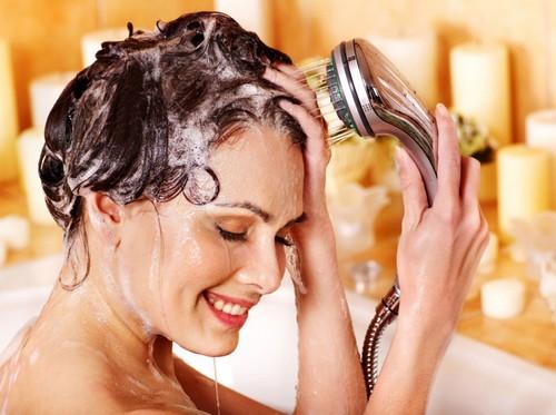 сода и шампунь