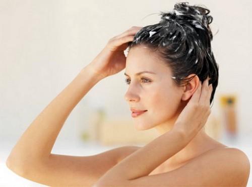 Мытье головы содой