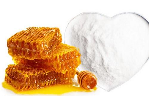 мёд и сода