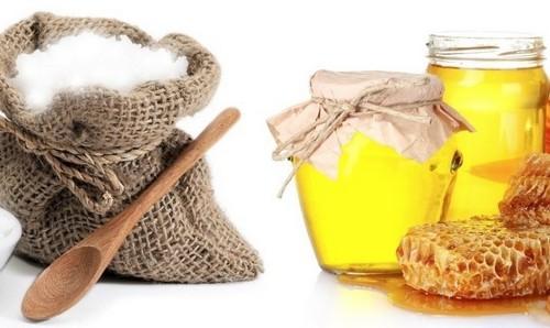 сода и мёд