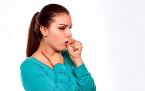 сильный, сухой кашель