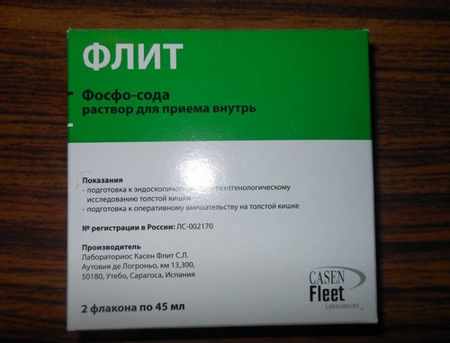 Упаковка Флит фосфо-соды